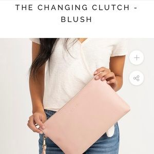 Brand New Fawn Design Baluch Changing Clutch